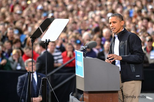 Obama in Madison 2012 | by Lost Albatross