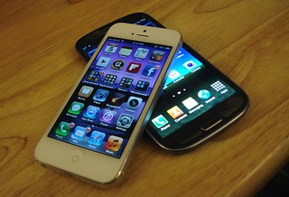 iPhone 5 & Galaxy S III | by scrap104
