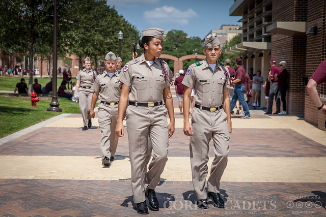 Texas A&M Corps of Cadets Gameday UCLA 2016