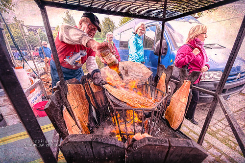 finland lappeenranta nikon d700 1424mm topaztextureeffects topaz kalamarkkinat fishmarket salmon fair