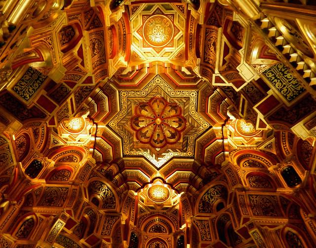 Cardiff Castle-Arab room
