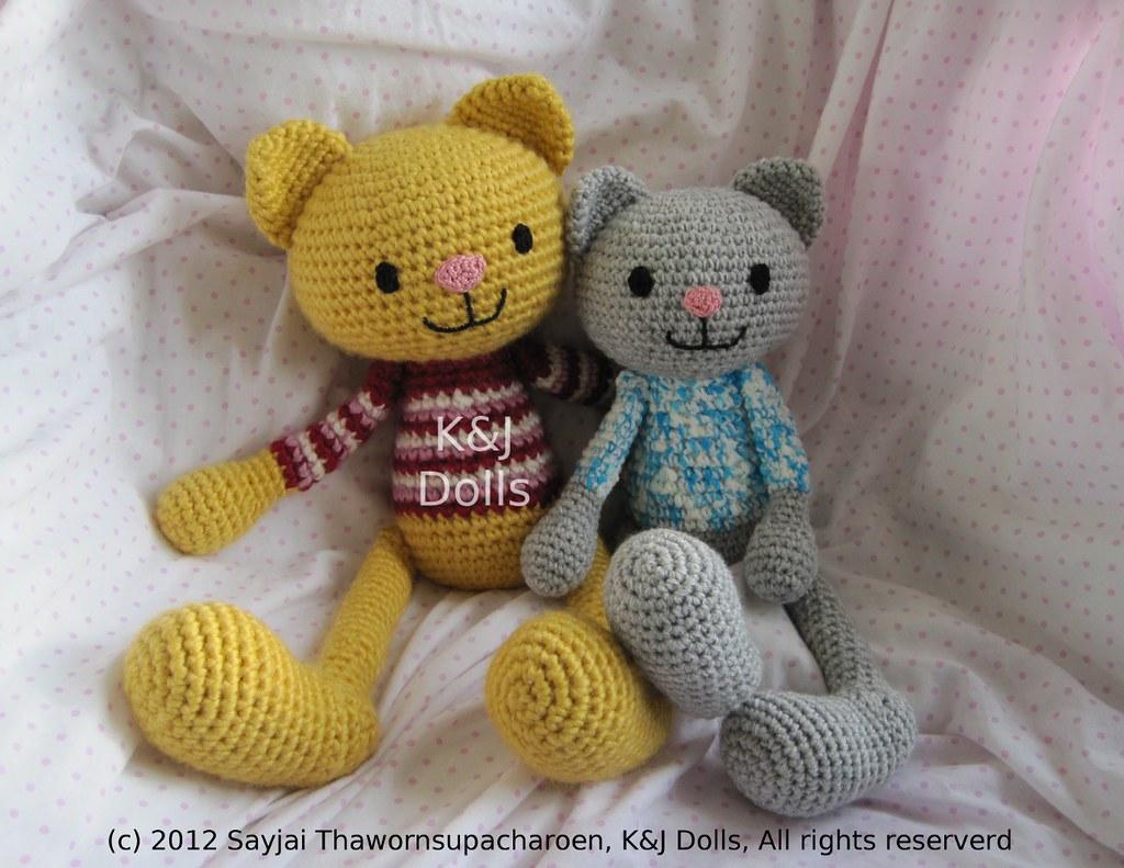Crochet a Cat - Free Crochet Pattern - Yarnplaza.com | For ... | 791x1024