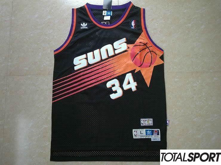 d798045e4d ... CAMISETA RETRO PHOENIX SUNS CHARLES BARKLEY (Negra) | by totalsport