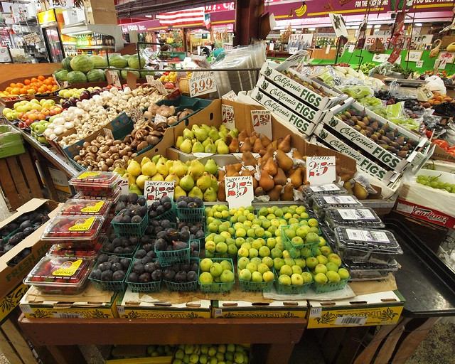 Boiano Fruit and Vegetables, Arthur Avenue Market, Little Italy, Bronx, New York City