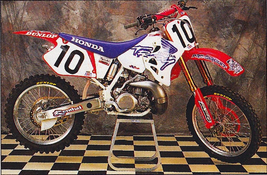 Honda Of Troy >> Brian Swink S 1995 Honda Of Troy Cr250r Tony Blazier Flickr