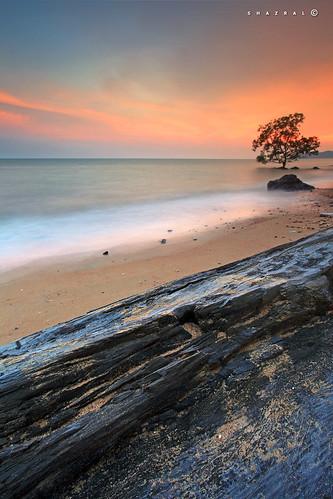 longexposure seascape canon eos le malaysia hoya portdickson nd400 negerisembilan leefilters azralfikri shazral 5dmark2