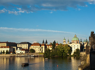 View from Charles Bridge | by dorochina