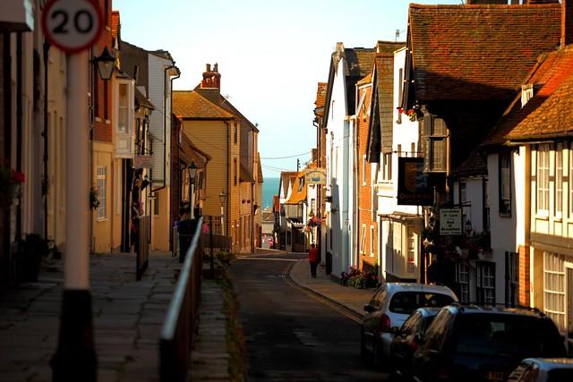 All Saints Street, Hastings, East Sussex, England, United Kingdom