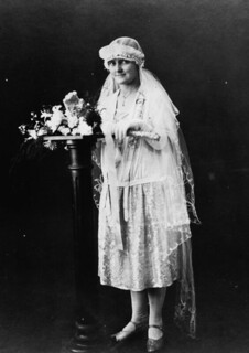 E. Power on her wedding day in August, 1927