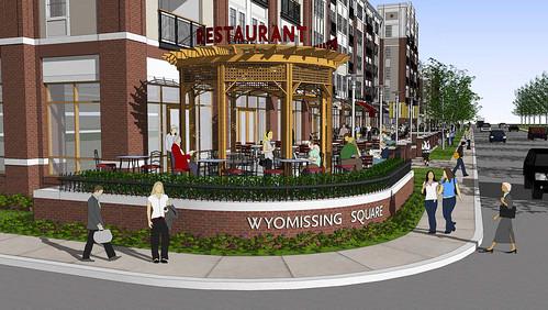 The Promenade at Wyomissing Square Restaurant Endcap | by The Promenade at Wyomissing Square