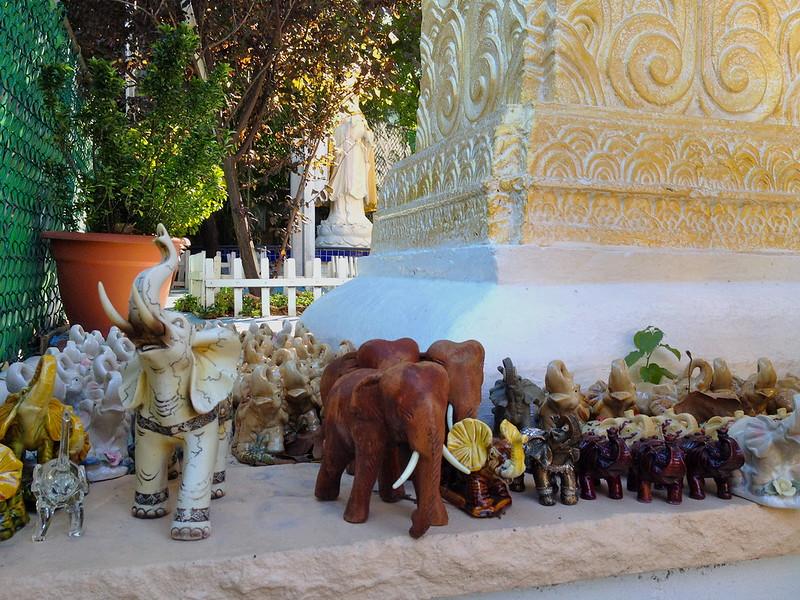 marching elephants