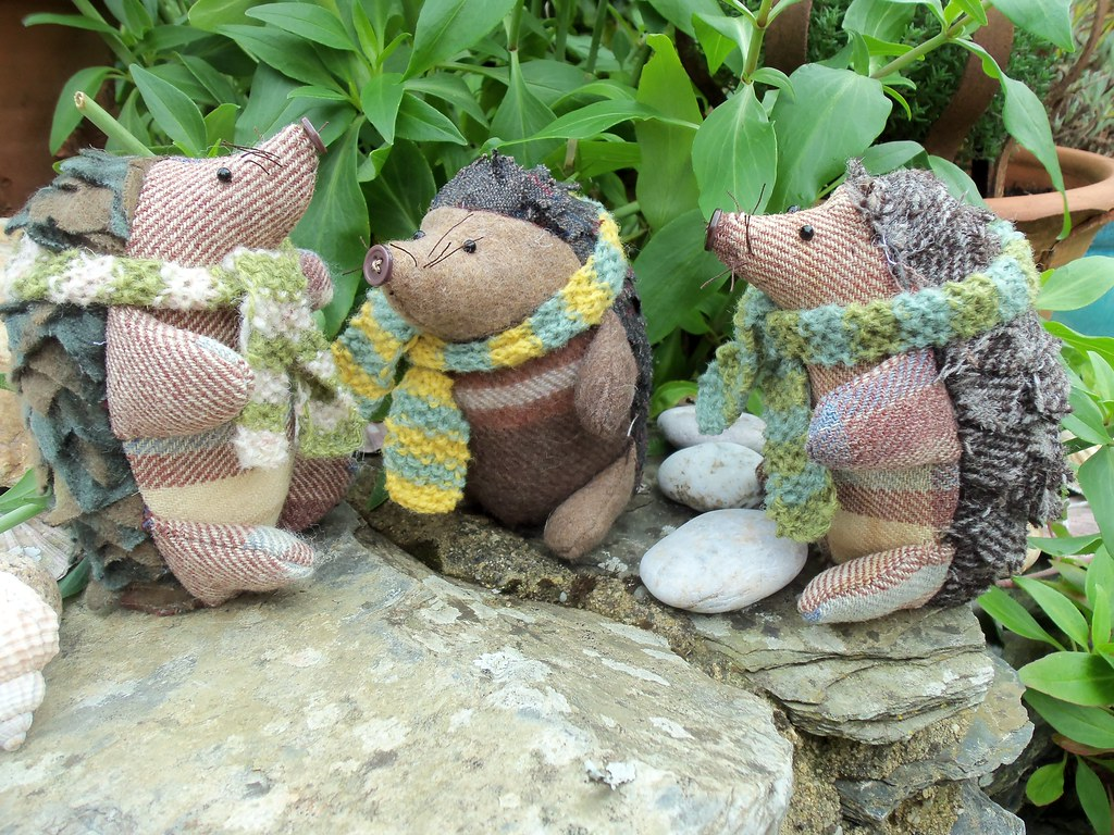 Hodge & Podge   Hedgehog softie patterns from Bustle & Sew