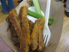 "Chicago Diner's Vegan BBQ ""Wings"""