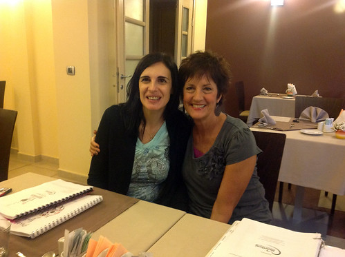 Vesna from Serbia and Jackie from Bosnia