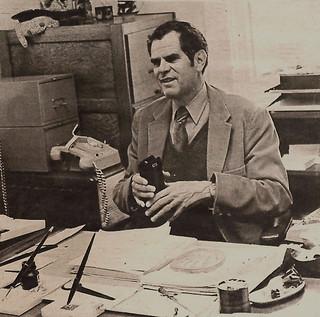 TSL photo of Professor Fred Sontag in 1977