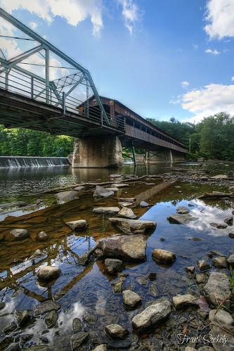 coveredbridge harpersfield frankszekelyphotography