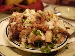 土, 2012-10-06 19:51 - タコのサラダ Salada de Polvo