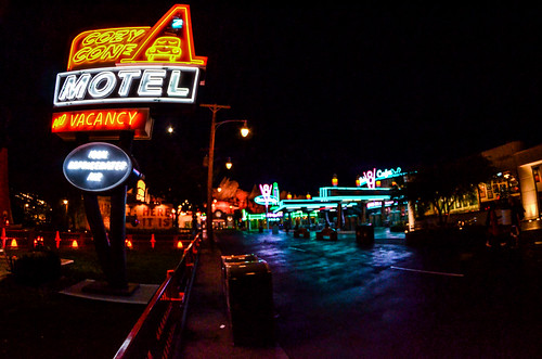 Cozy Cone Cars land night | by gamecrew7