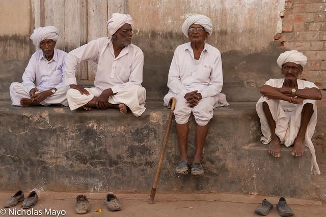 Men Of Prajapati Caste