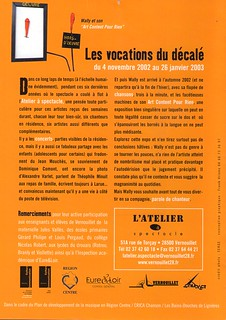 Plaquette action culturelle Vernouillet   by lewally12