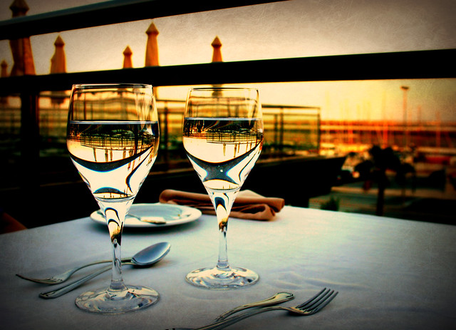 Dinner on the terrace (Explored)