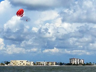 Parasailers in the Gulf | by Erin *~*~*