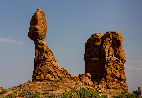 USA - Utah - Arches National Park - Balanced Rock | by World-wide-gifts.com