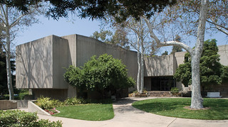 Thatcher Hall, built for Pomona's Music Department in 1970