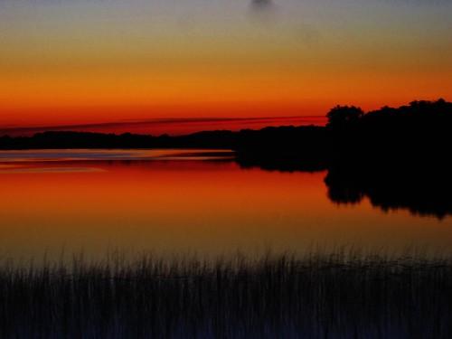 sunset lake minnesota devilslake