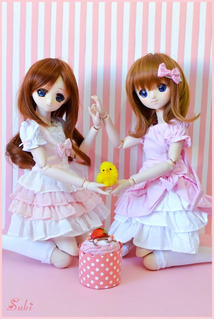 Maria & Emi (MDD Maria Ushiromiya & MDD custom)