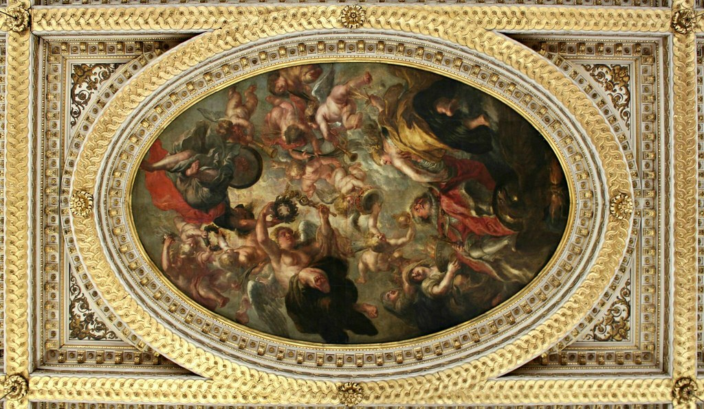 The Apotheosis of James I by Peter Paul Rubens | Banqueting