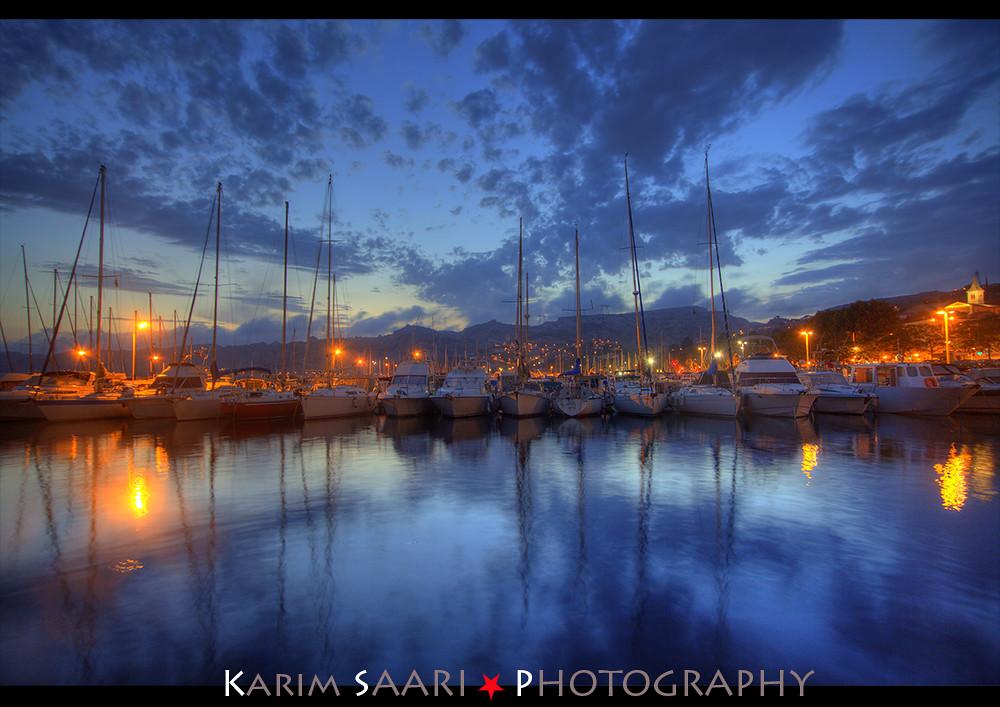 ★ Marseille, le port de l'Estaque by Night ~ Karim SAARI ©