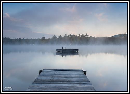 vacation mist nature water fog sunrise outdoors pond maine ripples 2012 sandpond