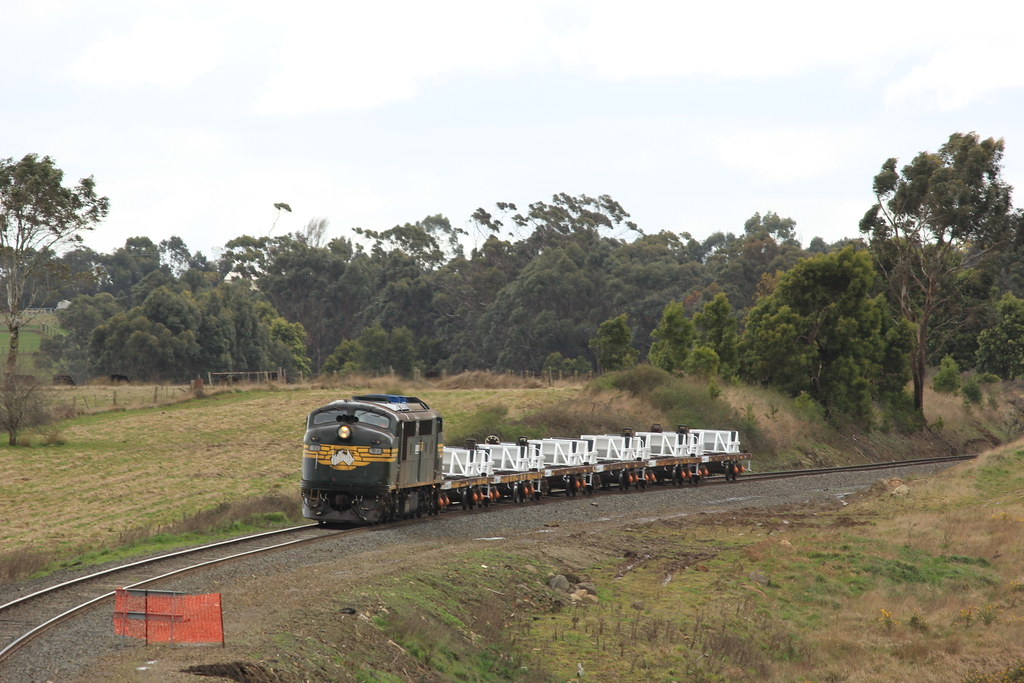A77 powers through heavy wind and rain as it makes its way through Navigators by bukk05