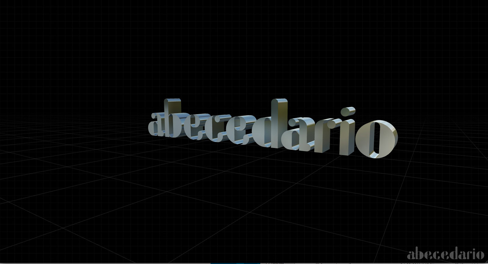 "Gramapoética 3D ""ABECEDARIO"""