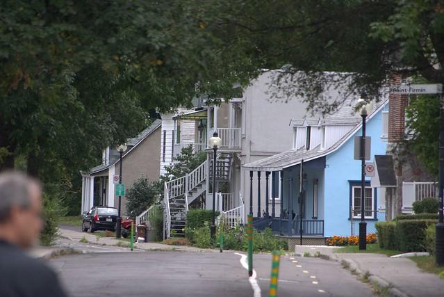 Maison typique du Sault aux Récollets   boulevard Gouin Montreal Québec Canada