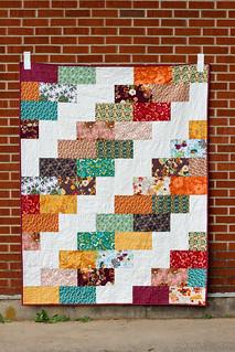 Side Braid Quilt Pattern - Big Braid | by Jeni Baker | In Color Order
