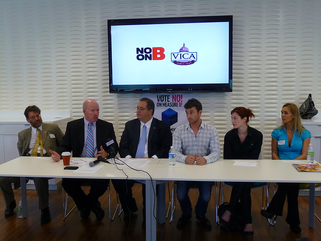 No on Measure B News Conference
