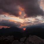 Glen Coe sunrise from my bivi bag