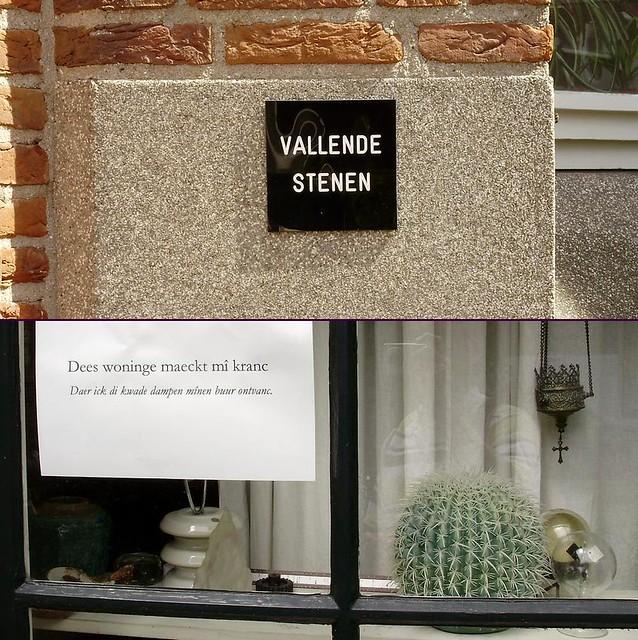 street text - leiden