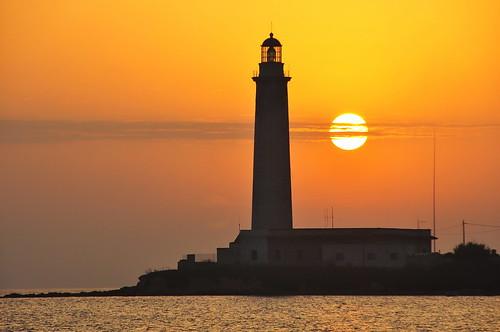 sunset lighthouse faro seaside tramonto mare kartibubbo impressedbeauty granitola