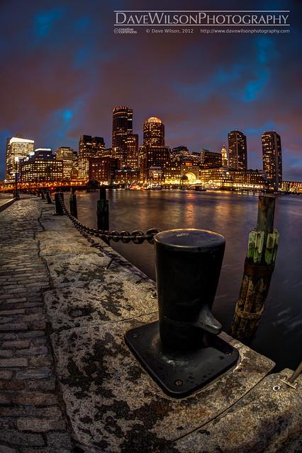 Boston Skyline from Fan Pier