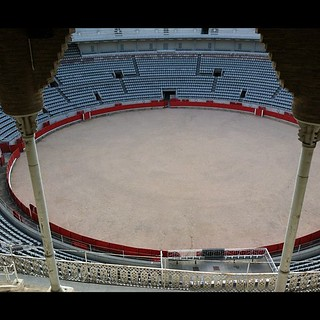 #kvpspain : Checking out #barcelona 's bullfighting ring. Woot! #fb | by queenkv