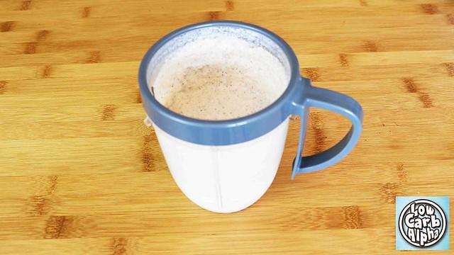 Low Carb Keto Almond Vanilla Protein Shake