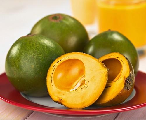 Lucma o Lúcuma, fruta nativa peruana