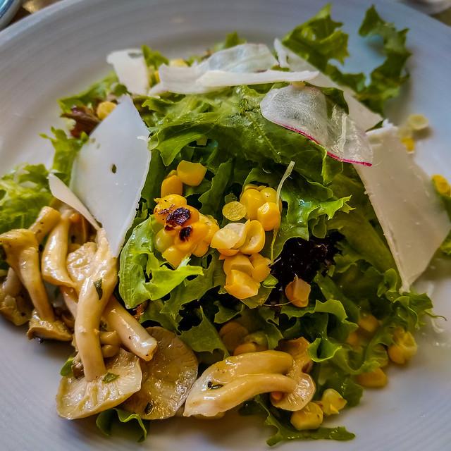 Island Creek Oyster Bar salad