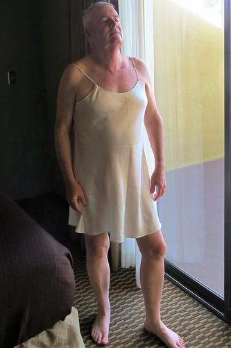nightgown light, crossdressing dream
