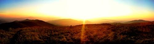 panorama mountain max mountains nc bald northcarolina 360 panoramic patch iphone maxpatch iphoneography