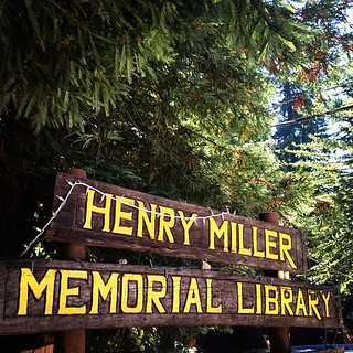 Finally visited and it was everything I wanted it to be! #henrymiller   by sarahwulfeck