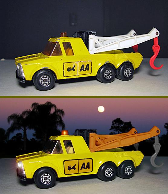 Matchbox Lesney K-6/11 Wrecker/Truck Photoshopped